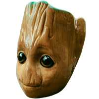 Фотография 3D кружка Малыш Грут (Guardians of the Galaxy - Baby Groot, 3D Sculpted) [=city]