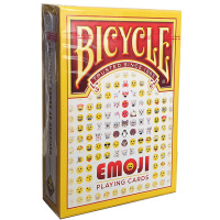 Фотография Карты Bicycle Emoji [=city]