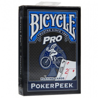 Фотография Карты Bicycle Pro Poker Peek (синие) [=city]